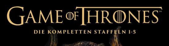 NEWS: Game of Thrones - Staffel 1-5 mit Fotobuch