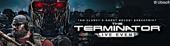 Ghost Recon Breakpoint: Terminator-Event Trailer