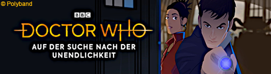 BD Kritik: Doctor Who - Animated Double Feature