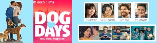 Gewinnspiel: Dog Days - Herz, Hund, Happy End!