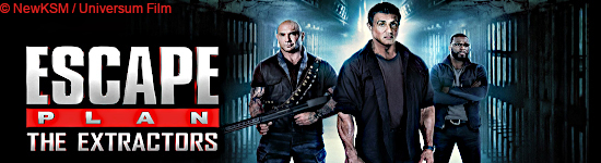 BD Kritik: Escape Plan - The Extractors