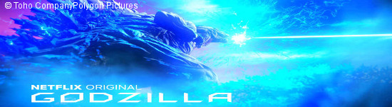 Godzilla: Monster Planet - Netflix plant Trilogie