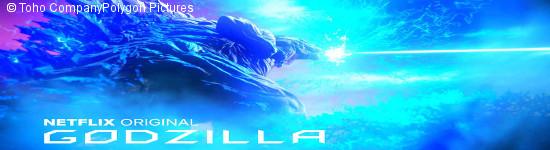 Godzilla: Monster Planet - Netflix plant Trilogie