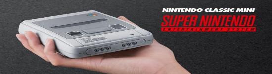 Nintendo kündigt Mini-Super-NES an