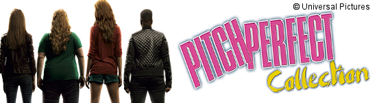 Pitch Perfect Trilogy - Ab April auf DVD und Blu-ray