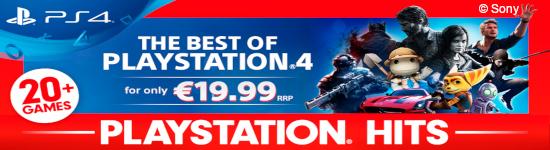 PlayStation Hits - Neue Spiele zum Vorteilspreis