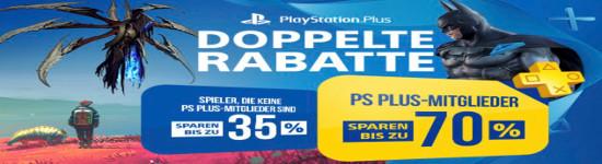 Playstation Store - Viele Spiele bis 70% reduziert