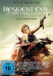 DVD Kritik: Resident Evil - The Final Chapter