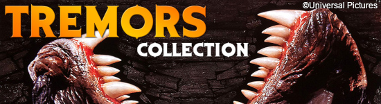 Tremors 1-6 - Collection ab Oktober auf DVD und BD